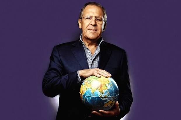 Маски народов мира. Сергей Лавров – о внешней политике в эпоху коронавируса