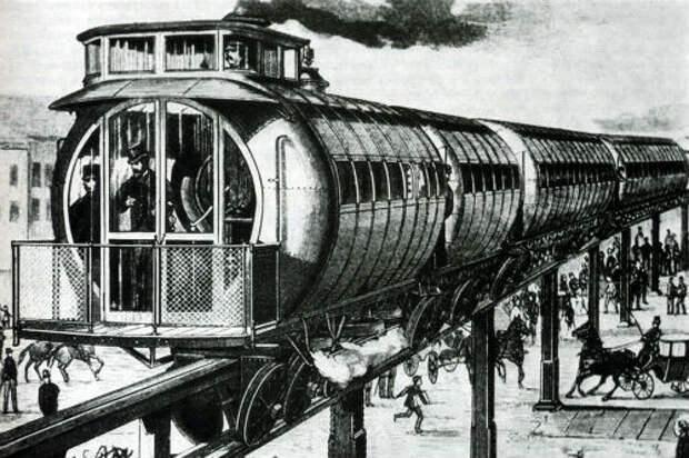 Летающий поезд дореволюционной России
