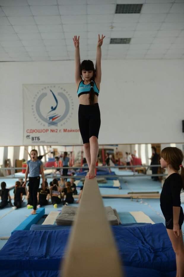 Точка опоры. Репортаж «СА» об отделении спортивной гимнастики республиканской спортшколы №2