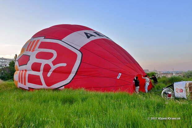 Полёт над Севастополем на воздушном шаре