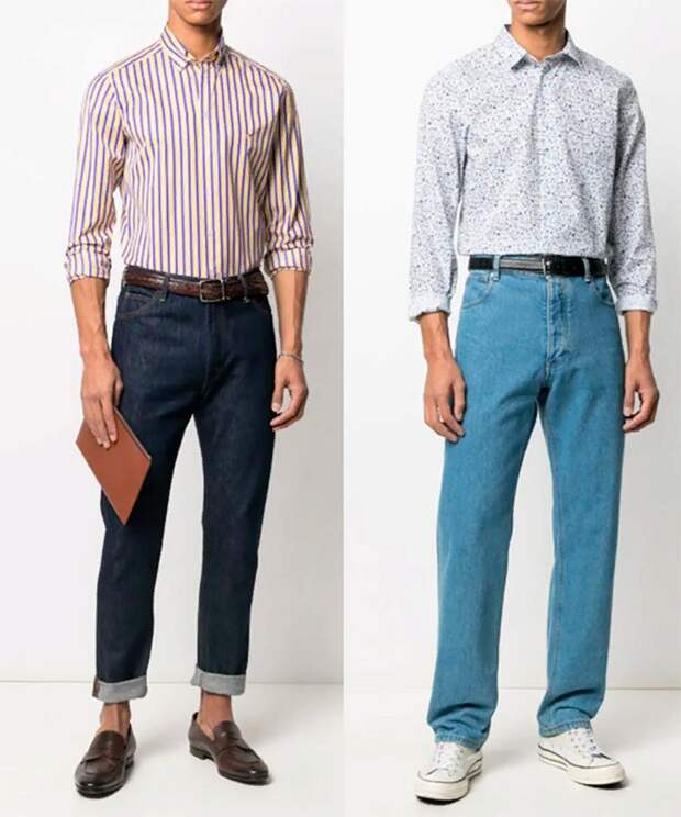 Мужчина + рубашка = тренд 2021г