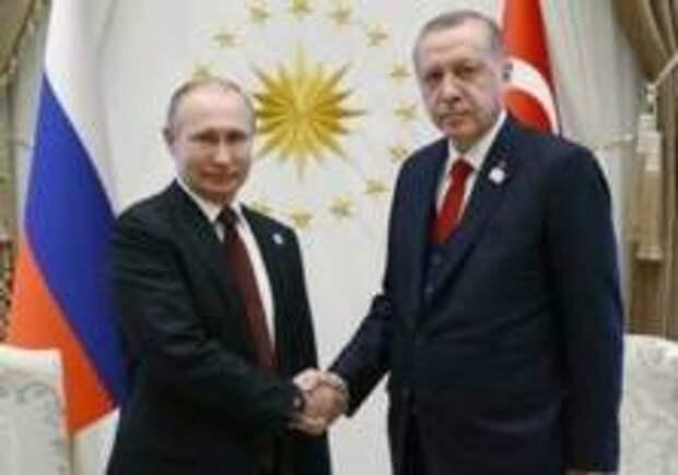 Путин встретится с Эрдоганом