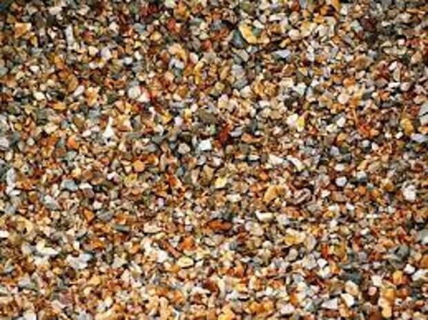Каменная крошка. Виды и характеристики