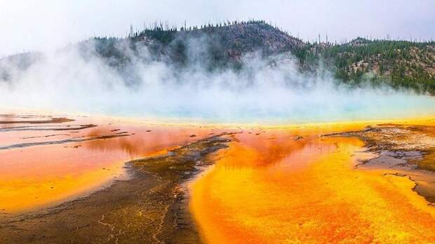 Как извержение супервулкана может повлиять на атмосферу Земли