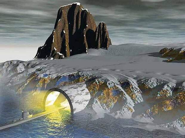 Тайны Антарктиды или коварство страны Агарти.