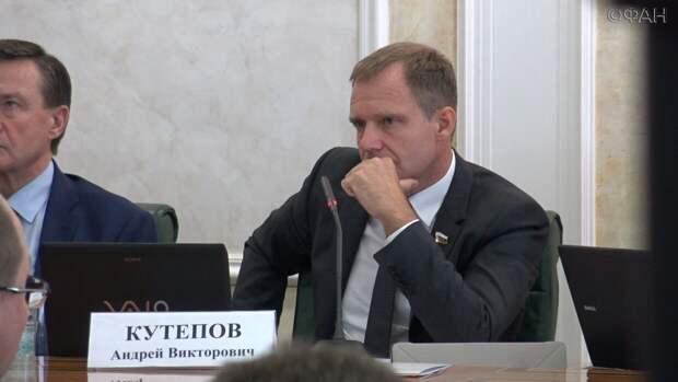 Сенатор Андрей Кутепов