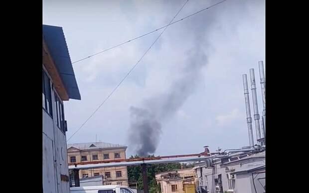 В МЧС рассказали о пятничном пожаре в центре Рязани