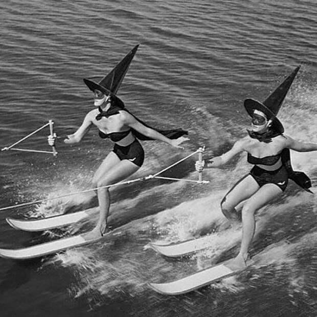 Хеллоуин, Флорида, США, 1954 год. Весь Мир, история, фотографии