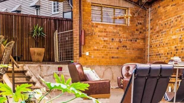 У дома также есть милая терраса архитектура, в мире, дизайн, дом, склад