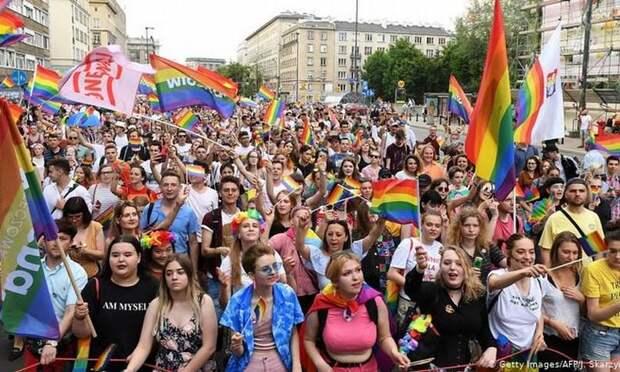 Нормальная половая ориентация в ЕС карается не рублём, но евро