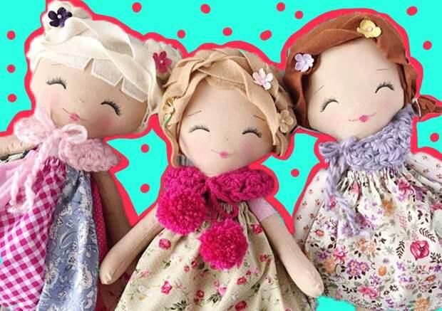 Как сделать куклу своими руками: 3 мастер-класса от редакции