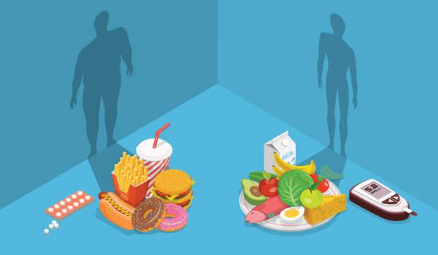 Низкоуглеводная диета —питание для лечения диабета