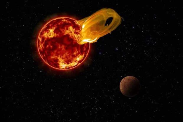 Космос, звезда, планета, центавр, Проксима Центавра, ufospace.net