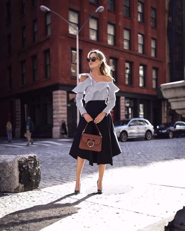 Асимметричная юбка фото 8