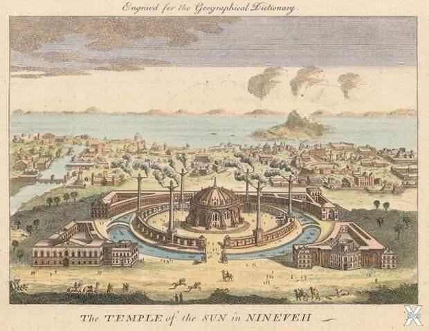 Ниневия, столица Ассирии в 690-612 гг...