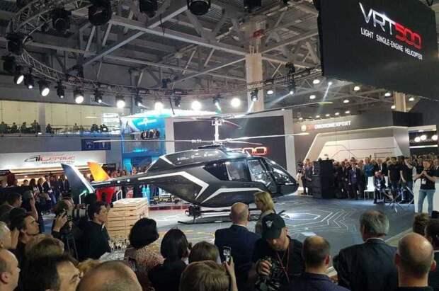 На HeliRussia впервые представлен легкий вертолет VRT500
