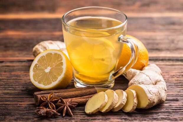 Напитки из имбиря - чай с корицей и имбирем