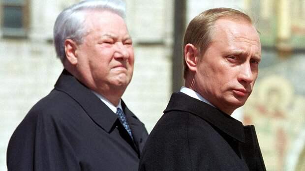 Путин раскрыл детали разговора с Ельциным о преемнике