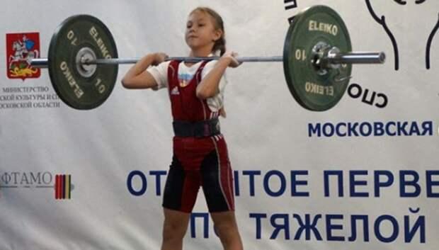 Спортсменка из Подольска победила в областном первенстве по тяжелой атлетике