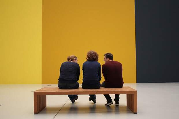 Посетителей, Выставка, См, Музей, Искусство, Галерея