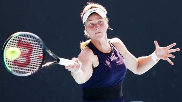 Россиянка Самсонова обыграла 11-ю ракетку мира Бертенс на турнире в Майами