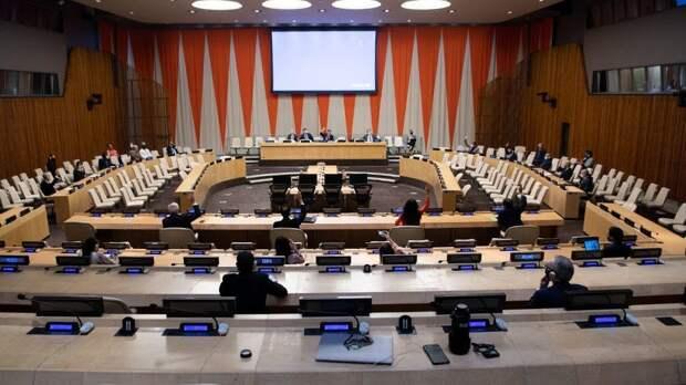 Поход Берлина на Москву в ООН