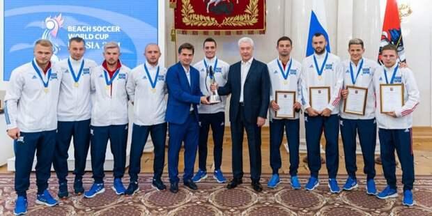 Собянин: В Москве открыты 128 площадок для пляжных видов спорта