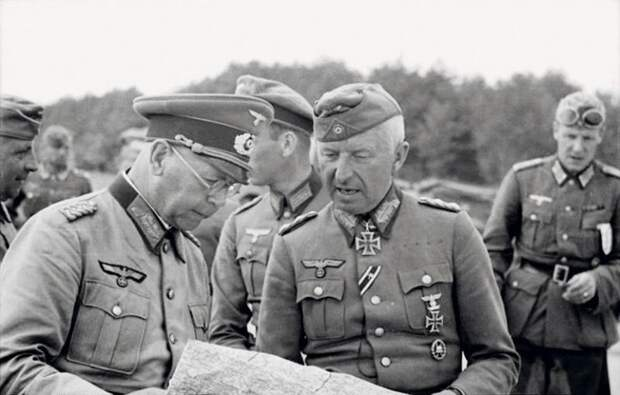 Эрих Манштейн: что стало с фельдмаршалом Гитлера после войны