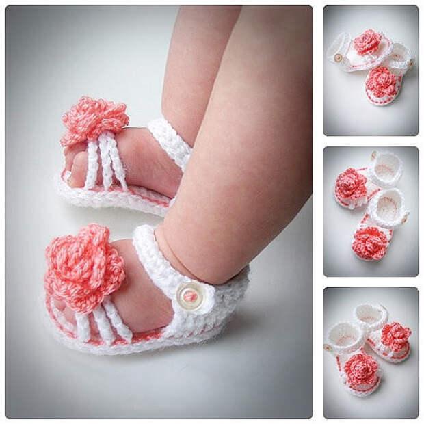 """""""Обувь"""" для самых маленьких своими руками. Идеи!)))))"""