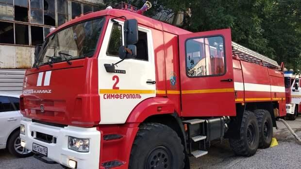 В Симферополе в многоэтажке произошёл пожар: пострадавших нет