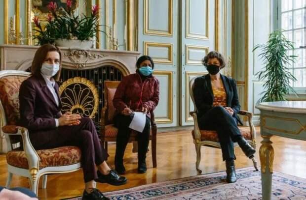 Майя Санду встретилась с мэром Страсбурга Жанной Барсегян. Что они обсуждали?