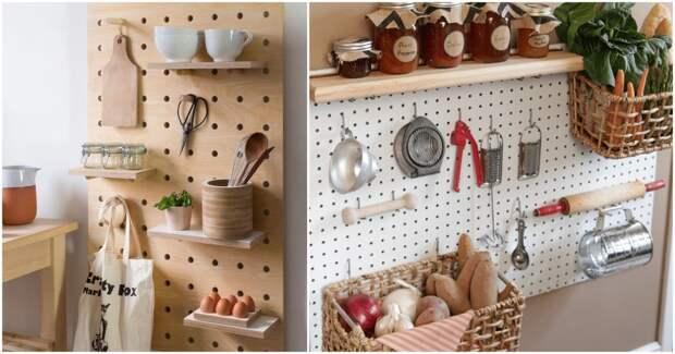 Грамотные примеры использования пугборда для идеального порядка в доме