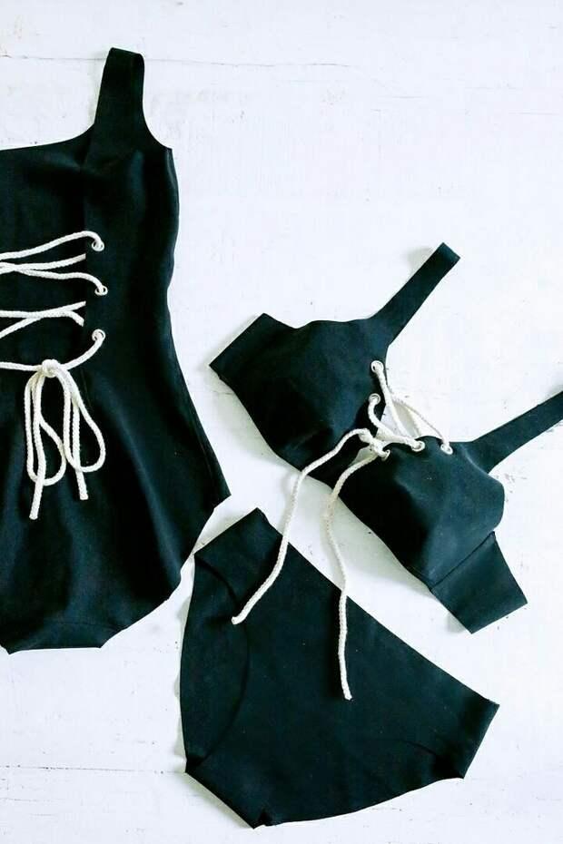 Купальники со шнуровкой (Diy)