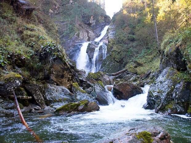Водопад Большой Шалтан