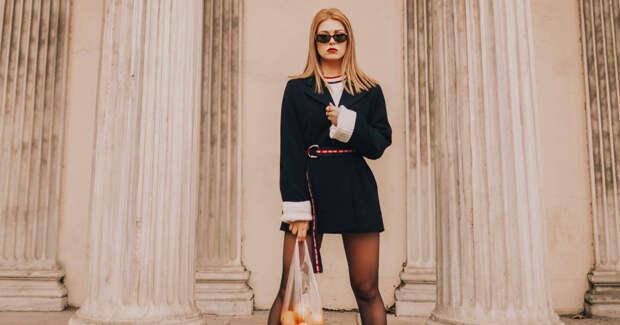 Как носить короткие шорты и мини-платье осенью: 4 модных образа