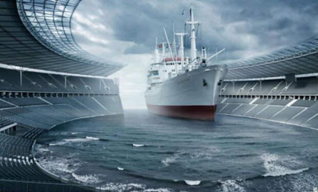Больше Титаника: на воду спускают плавучий город
