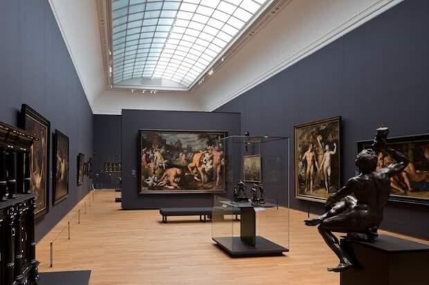 Зал искусства XVII века