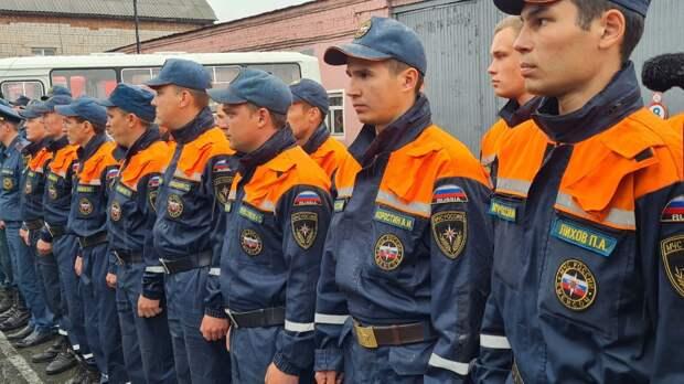 Пожарные Удмуртии вернулись из экстренной командировки в Мордовию