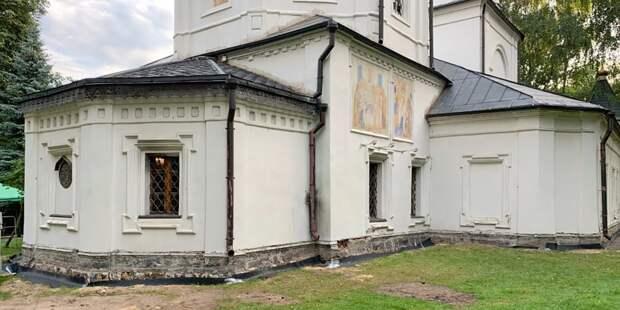 Уникальной церкви в Ростокине вернут исторический облик