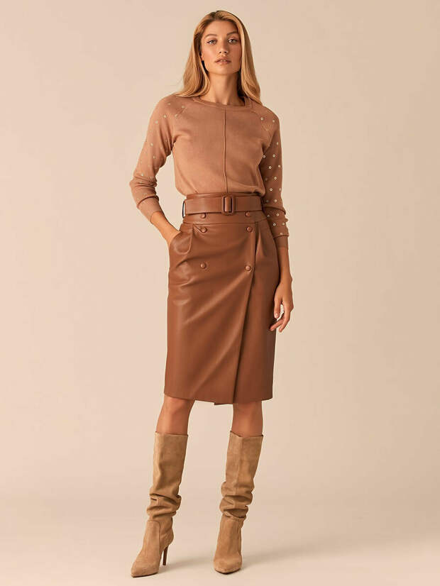 Зима 2020-21: самые стильные модели юбок для элегантных образов