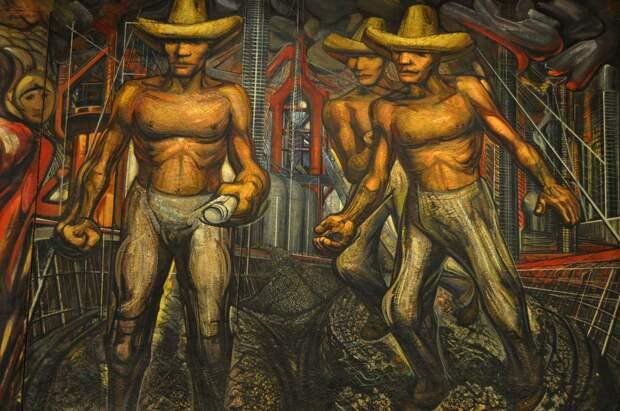 Сикейрос о предоставлении Троцкому убежища в Мексике