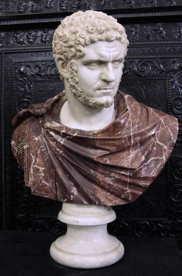 Септимий Бассиан Каракалла, бюст III в. н.э.