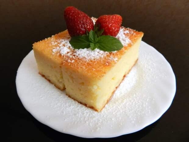 Творожный манник. Оригинальный сладкий и нежный десерт, который понравится как детям, так и взрослым 3