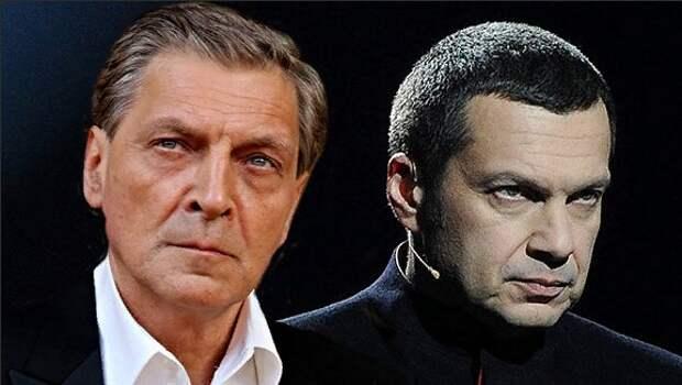 Соловьев схлестнулся с «одержимым бесами» Невзоровым