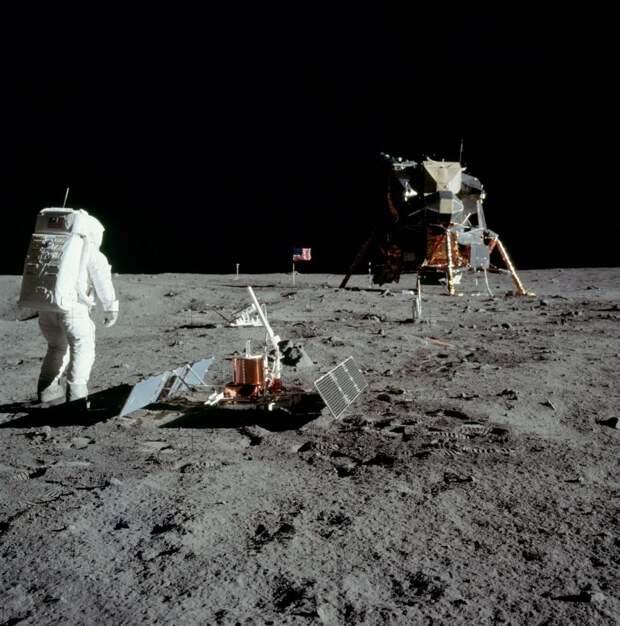 Аполлон-11. Базз Олдрин