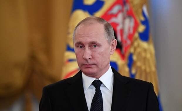 Путин присвоил военным частям имена украинских городов