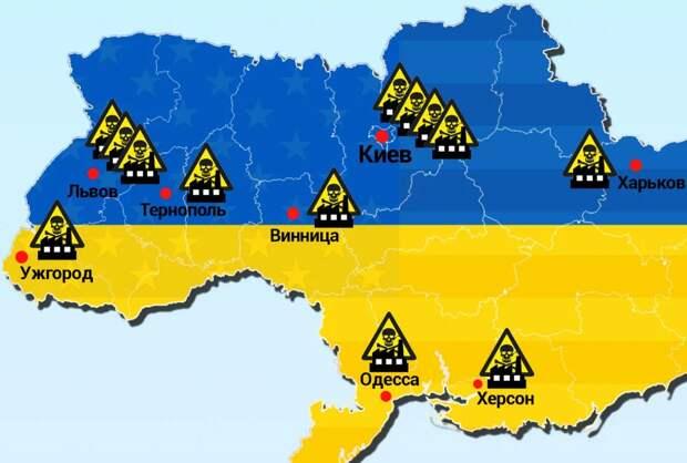 Олейник: биолаборатории на Украине представляют очень серьезную опасность