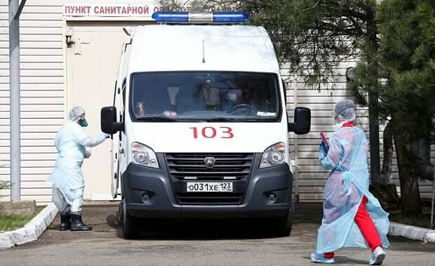 На Кубани прибавилось 123 ковид-пациента