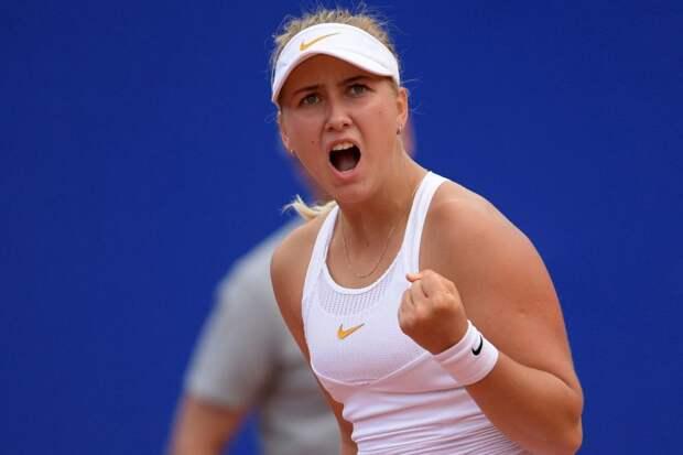 Потапова завоевала путёвку в четвертьфинал турнира в Бирмингеме
