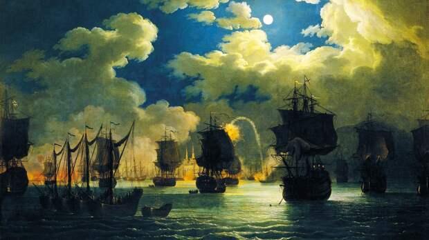 Самая великая победа русского флота